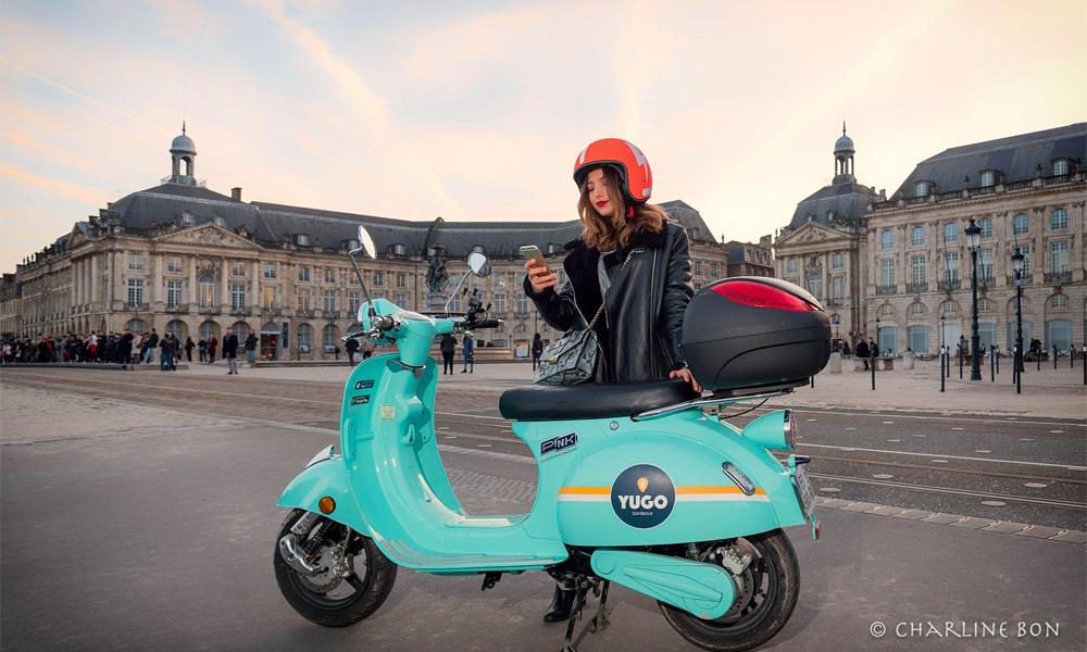 Image à la une – Pink Mobility déploie ses scooters électriques à travers la France