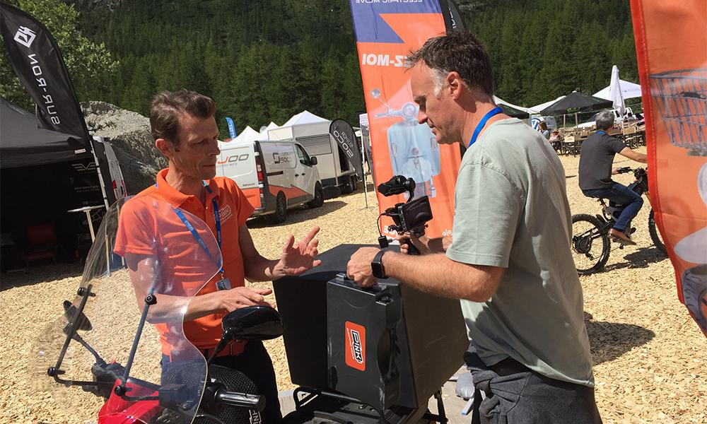 Image à la une – Val d'Isère : le salon du véhicule électrique en pleine ascension