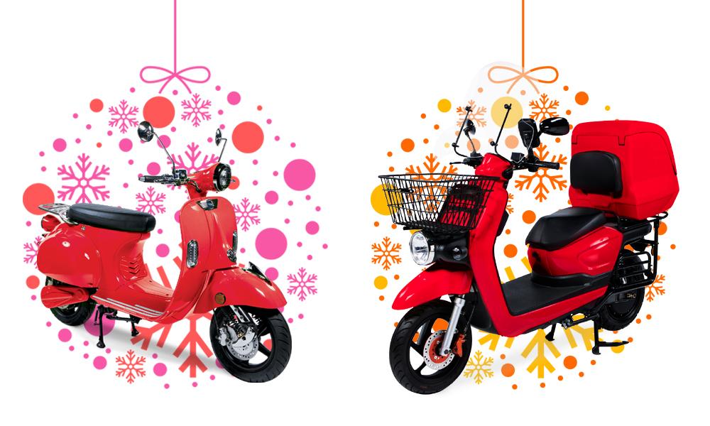 Image à la une – Offrez-vous un scooter électrique pour Noël !