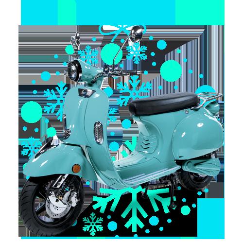 Scooter électrique - Joyeux Noel !
