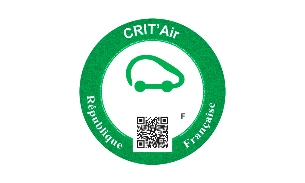 Image à la une – Crit'air(s) de pollution