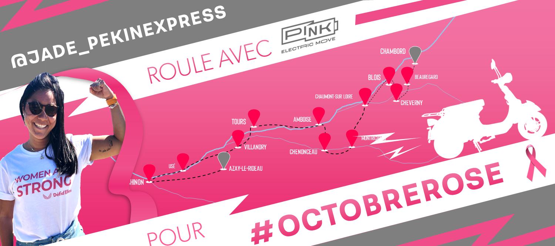 Image à la une – Pink Mobility roule pour Octobre Rose