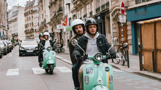 Image à la une – [CNews] Paris : les scooters électriques Yego débarquent dans la capitale