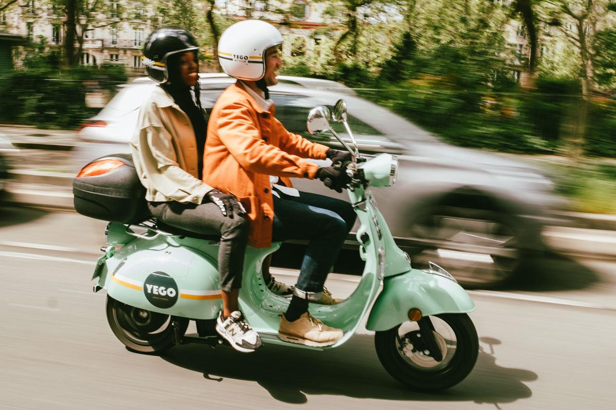 Image à la une – [Le Repaire des Motards] Les scooters électriques en libre-service avec Yego